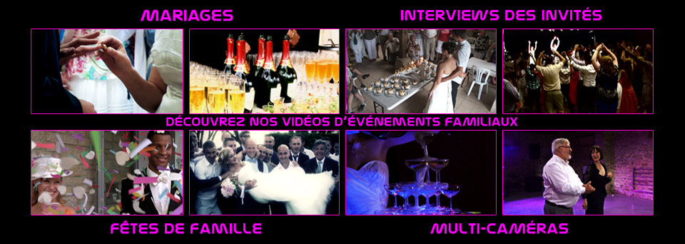 realisations videos mariage
